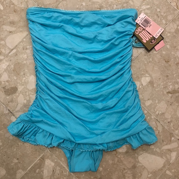 5329d635d4835 Juicy Couture Swim | Nwt Blue One Piece Bathing Suit | Poshmark